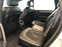 2014 AUDI Q7 S Line Quattro 3.0 Turbocharged 7 Seat MMi Adaptive Suspension Automatic Power Boot Power Seat Multi Function Paddle Shift Steering Daytime Running LED Bluetooth Connectivity Unreg