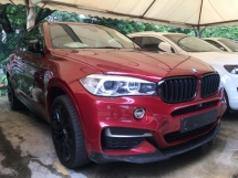 2015 BMW X6 50D  SUV M-SPORT SUN ROOF POWER BOAT LIKE NEW