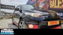 2016 TOYOTA VIOS 1.5 ( A ) ORIGINAL TRD SPORTIVO !! FULL BODYKIT !! VVT-I !! KEYLESS ENTRY / PUSH START !! MILEAGE DONE ONLY 36, 663 KM !! FULL SERVICE AND MAINTAINED BY UMW TOYOTA !! PREMIUM FULL HIGH SPECS !! ( WX 1838 X ) 1 CAREFUL OWNER !!