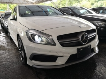 2014 MERCEDES-BENZ A45 AMG 4 MATICS PREVENTION COLLISION ASSIST JAPAN UNREG