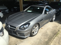 2014 MERCEDES-BENZ SLK SLK200 BLUE EFFICIENCY SPORTS P.ROOF