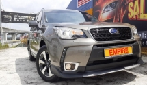 2017 SUBARU FORESTER 2.0 (A) I-P 5 SEATER SUV !! FULL SERVICE RECORD BY SUBARU !! STILL UNDER WARRANTY TILL 2022 !! MILEAGE DONE ONLY 35, 946 KM !! AWD NEW FACELIFT !! PREMIUM SUV FULL HIGH SPECS THAT COMES WITH SMART ENTRY / PADDLE SHIFT / PUST START / X-MODE / FULL BODYKIT