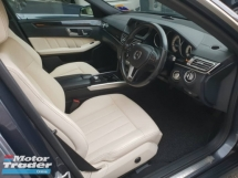 2013 MERCEDES-BENZ E-CLASS E250 2.0 FACELIFT (CKD Local Spec)