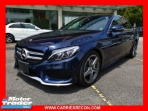 2016 MERCEDES-BENZ C-CLASS C180 AMG - RARE COLOR - JAPAN SPEC - UNREG
