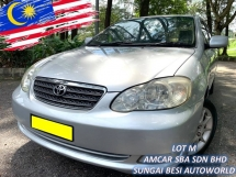 2004 TOYOTA COROLLA ALTIS 1.8 G (A) NEW FACELIFT 1 OWNER
