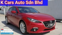 2015 MAZDA 3 Skyactiv 2.0 SDN (CBU) Import New Car Ori 69k Km Sunroof Paddle Shift Push Start Excellent Condition Worth Buy