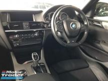 2016 BMW X4 M Sport 2.0 Twin Turbocharged Head Up Display 360 Surround Camera Keyless Smart Entry Intelligent Bi-LED Lights Memory Bucket Seat Automatic Power Boot Paddle Shift Bluetooth Connectivity Unreg