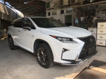 2017 LEXUS RX Unreg Lexus RX200T 2.0 Turbo Camera Keyless Push Start PowerBoot Paddle Shift