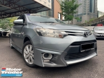 2014 TOYOTA VIOS 1.5 J (A) FULL BODYKIT TIP TOP CONDITION 2014