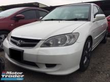 2004 HONDA CIVIC 1.7 VTEC SIR II TRUE YEAR