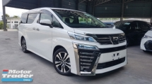 2018 TOYOTA VELLFIRE 2018 Toyota Vellfire 2.5 ZG Facelift Demo Car Sun Roof  LED Pre Crash LTA Leather Seat Pilot Seat Power Boot Unregister for sale