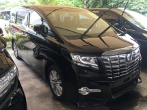 2015 TOYOTA ALPHARD 2.5 SA MPV SUNROOF PRE CRASH FULL VIEW CAMERA POWER BOAT