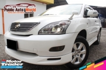 2007 TOYOTA HARRIER 2.4 TURBO(A) 240G F/LOADED R/CAM 07