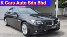 2015 BMW 5 SERIES 520d LCI F10 2.0 Facelift Diesel Turbo (CKD) Ori 64k Km Mileage Everything Keep Like New Condition Ori Paint Never Accident Free 1 Year Warranty Worth Buy