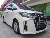 2018 TOYOTA ALPHARD 2.5 SIDE LIFT UP SEAT WHEELCHAIR WELCAB (UNREG) SUNROOF