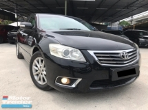 2010 TOYOTA CAMRY 2.0G FULL SPEC - FACELIFT - BODYKIT - LEATHER SEAT - ELECTRIC SEAT - PERFECT CONDITION - OFFER MEGA SALE - DEAL SAMPAI JADI