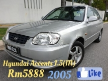 2005 HYUNDAI ACCENT 1.5 MANUAL AND AUTO BOTH AVAILABLE