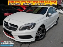 2014 MERCEDES-BENZ A-CLASS A250 AMG Sports TRUE YEAR MADE 2014 2.0cc Turbocharge MIl 73k km Full Service Hap Seng