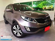 2011 KIA SPORTAGE 2.0 DOHC (A) SUV AWD FULL LEATHER SEAT KEYLESS ENTRY & START SUN & MOON ROOF REVERSE CAMARE