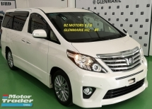 2014 TOYOTA ALPHARD 2014 TOYOTA ALPHARD 2.4 S FACELIFT CAR SELLING PRICE ( RM 153000.00 NEGO ) BLACK COLOR
