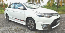 2014 TOYOTA VIOS 1.5 TRD SPORTIVO AUTO / PUSH START / LEATHER SEAT / ORIGINAL TRD BODYKIT / VVTI ENGINE SAVE PETROL / TIPTOP CONDITION