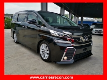 2015 TOYOTA VELLFIRE 2.5 Z EDITION - UNREG - COME TO VIEW