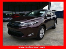 2016 TOYOTA HARRIER 2.0 ELEGANCE - SPECIAL COLOR - WINE RED - UNREG - VIEW NOW