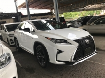 2017 LEXUS RX RX200T F SPORT JAPAN PRE CRASH MEMORY LEATHER SEAT 2017 JAPAN UNREG