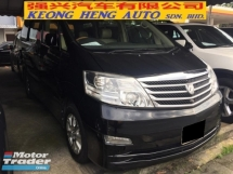 2007 TOYOTA ALPHARD 3.0 MZG Facelift Registered 2008