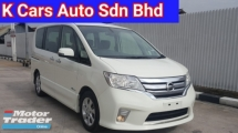 2014 NISSAN SERENA 2.0L S-Hybrid HIGHWAY STAR 7 Seat MPV Ori 81k Km Mileage Full Service History Accident Free Worth Buy