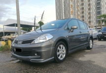 2008 NISSAN LATIO 1.6 SPORT (A) CCRIS AKPK CAN LOAN ** BLACKLIST SAA CAN LOAN ** CTOS PTPTN CAN LOAN **