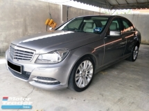 2013 MERCEDES-BENZ C-CLASS C200 CGI BLUE EFFICIENCY AVANTGARDE FACELIFT