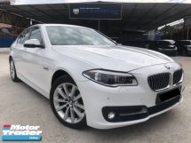 2015 BMW 5 SERIES 520I 2.0 LUXURY TWIN TURBO - FACELIFT - FULL SERVICE - AUTO BAVARIA - WARRANTY - MEMORY SEAT - KEYLESS - PUSH START - ADAPTIVE LED - NEW METER - MEGA SALE OFFER