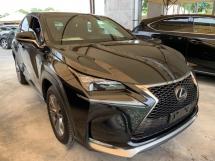 2017 LEXUS NX 200T F-SPORT (A) UNREG