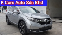 2018 HONDA CR-V (Actual Year) 1.5 TC 4WD (A) Ori 12k Km Mileage Go With VIP Plate Number 78 Full Service By Honda Warranty Until 2023 March Worth Buy