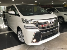 2015 TOYOTA VELLFIRE 2.5 Z 7 Seater NEW ARRIVAL HOT CAKE IN MARKET LOWEST PRICE IN TOWN