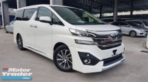 2015 TOYOTA VELLFIRE 2015 Toyota Vellfire 3.5 VL JBL Sound System Pre Crash Full Leather Unregister for sale