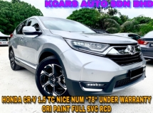 2018 HONDA CR-V 1.5 TC 4WD TRUE YR MAKE NICE NUMER 78 FREE COATING
