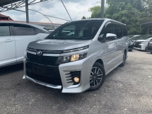 2014 TOYOTA VOXY 2.0 ZS HIGH SPEC ** BABY VELLFIRE / 7 SEATERS / 2 POWER DOOR ** FREE 4 YEAR WARRANTY ** BEST OFFER NOW