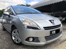 2014 PEUGEOT 5008 1.6 ,Luxury MPV,7Seat ,Full Leather Seat,Rear TV,Panaromic Roof,Low Mileage