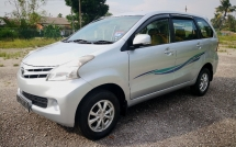 2012 TOYOTA AVANZA FACELIFE 1. 5 AUTO / DOCH VVTI ENGINE / TIPTOP CONDITION / BLACKLIST CAN LOAN