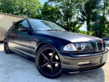 2005 BMW 3 SERIES E46 318i 2.0 (A) M-SPORT MATTE BLACK LIMITED SPECIAL EDITION