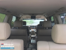 2005 TOYOTA ALPHARD  3.0 MZG FACELIFT S/ROOF P/BOOT