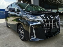 2018 TOYOTA ALPHARD 2.5 SC Pre Crash Sunroof DIM Unreg Sale Offer
