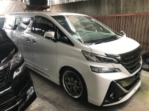 2016 TOYOTA VELLFIRE 2.5 ZG SPECIAL EDITION ALPINE SOUND SUNROOF TEIN ABSORBER LIKE NEW 2016 JPN UNREG