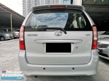 2005 TOYOTA AVANZA 1.3E (a) OTR PRICE WITHOUT ANY CHARGING