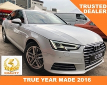 2016 AUDI A4 2.0 (A) TFSI CBU LOCAL WARRANTY