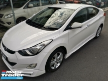 2014 INOKOM Elantra 1.6 GLS(A) - Sport Bodykit with Spoiler / Leather Seat  /True Year Made