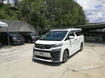 2018 TOYOTA VELLFIRE 2.5 ZG JBL SUNROOF UNREG 2018 FULL SPEC