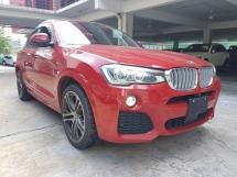2015 BMW X4 M SPORT xDrive28i M SPORT (UNREG) 4 CAMERA POWER BOOT SUNROOF